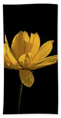 Golden Coreopsis Hand Towel by Jacqi Elmslie