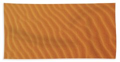 Golden Desert Sands Hand Towel
