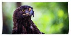 Golden Eagle 2 Hand Towel