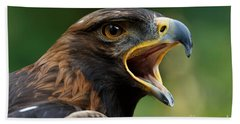 Golden Eagle - Raptor Calling Bath Towel