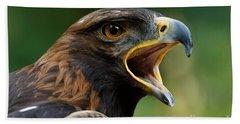 Golden Eagle - Raptor Calling Bath Towel
