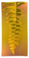 Golden Fern Bath Towel