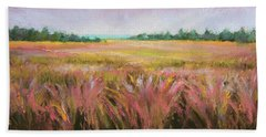 Golden Field Hand Towel