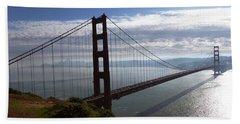 Golden Gate Bridge-2 Hand Towel by Steven Spak