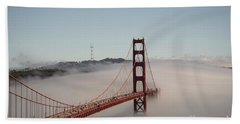 Golden Gate Bridge Bath Towel by David Bearden