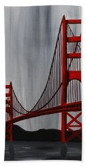 Golden Gate Bridge Bath Towel