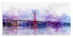 Golden Gate Bridge  Bath Towel