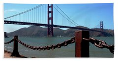Bath Towel featuring the photograph Golden Gate Bridge by Ivete Basso Photography