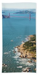 Golden Gate Coast Aloft Hand Towel