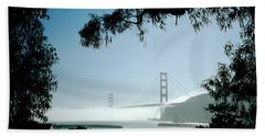 Golden Gate Fog  Bath Towel