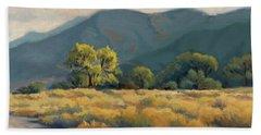 Golden Hour In Owen's Valley Hand Towel