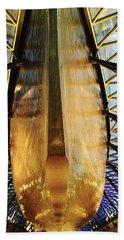 Golden Hull Of Cutty Sark Bath Towel