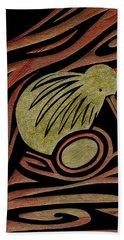Golden Kiwi Hand Towel