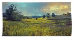 Golden Meadows Hand Towel