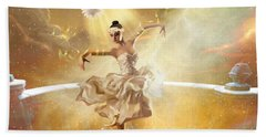 Golden Moments Bath Towel