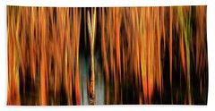 Golden Reeds Hand Towel