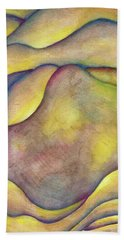 Golden Rose Bath Towel
