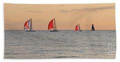 Golden Sail Hand Towel
