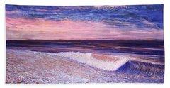 Golden Sea Bath Towel by Jeanette Jarmon