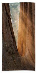 Golden Sequoia Bath Towel
