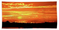 Golden Sunrise Bath Towel