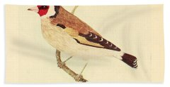 Goldfinch Bath Towel