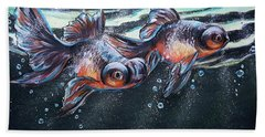 Goldfish Bath Towel