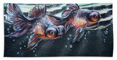 Goldfish Hand Towel