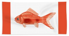 Goldfish Bath Towel