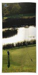 Golf - Puttering Around Hand Towel