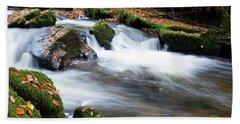 Golitha Falls IIi Hand Towel by Helen Northcott