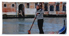 Gondolier Venice Hand Towel