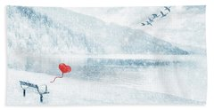 Gone Hand Towel by Iryna Goodall