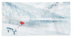 Gone Bath Towel by Iryna Goodall