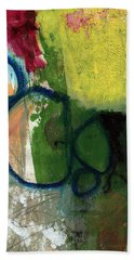 Good Day-abstract Painting By Linda Woods Hand Towel