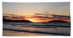 Good Harbor Beach At Sunrise Gloucester Ma Hand Towel