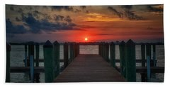 Good Morning Fort Myers Hand Towel