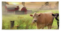 Bath Towel featuring the photograph Good Morning by Lori Deiter