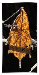 Goodbye To Autumn Hand Towel