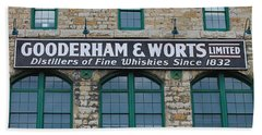 Gooderham And Worts Distillery Bath Towel