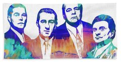 Goodfellas Watercolor Bath Towel