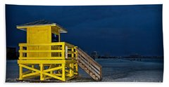 Goodnight Siesta Key Bath Towel by DJ Florek