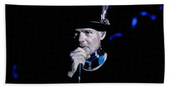 Gord Downie In Concert Bath Towel by Maciek Froncisz