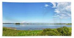 Gordons Pond Panorama - Cape Henlopen State Park - Delaware Bath Towel