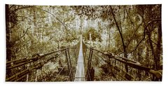 Gorge Swinging Bridges Bath Towel