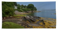 Gorgeous Coast Of Bustin's Island Hand Towel