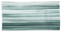 Gorgeous Grays Abstract Interior Decor II Bath Towel