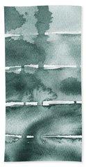 Gorgeous Grays Abstract Interior Decor Ix Bath Towel
