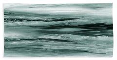 Gorgeous Grays Abstract Interior Decor Viii Bath Towel