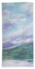 Gorgeous Lake Landscape Hand Towel